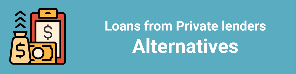 Loans from Private lenders